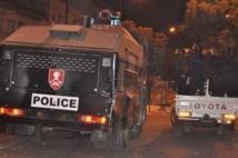 """Distribution de l'eau à la Patte d'Oie: un camion """"dragon"""" de la police s'est renversé"""