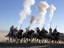 Cérémonie du 38ème anniversaire de la « Marche verte » de 1975, 6/11/13, Maroc. REUTERS/Youssef Boudlal
