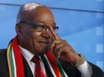 Jacob Zuma, le président sud-africain, à Davos, le 23 janvier 2013. REUTERS/Pascal Lauener