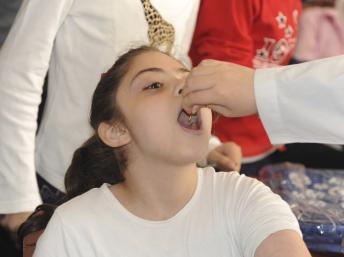 Syrie: campagne de vaccination contre la polio en cours