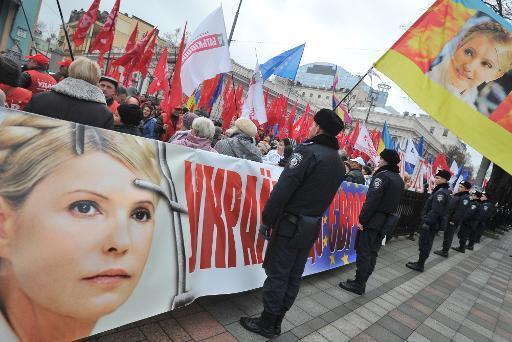 Ukraine: le Parlement referme sa séance sans vote sur le sort de Ioulia Timochenko