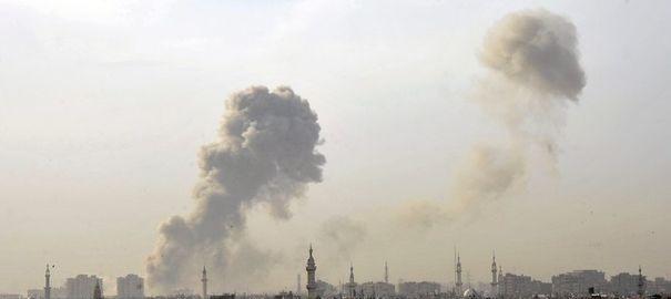 Syrie : le centre de Damas touché par des obus de mortier à proximité de la mosquée des Omeyyades