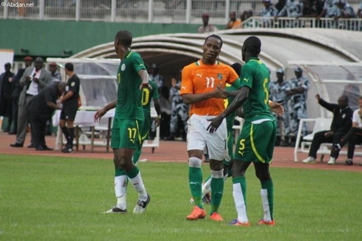"""Barrages mondial 2014 Sénégal 2-4 Côte d'Ivoire: les """"Eléphants"""" échappent aux """"Lions"""" et rejoignent les """"Super Eagles"""" au Brésil"""