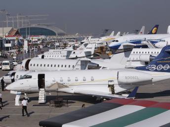 Ouverture du 13ème salon aéronautique de Dubaï