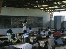 Une classe de primaire au Gabon Getty images/Sylvain Grandadam