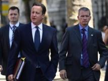 David Cameron, le 10 juillet 2013 à Londres. REUTERS/Paul Hackett