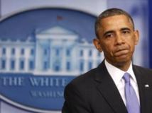 Le président Obama a reçu ce mardi 19 novembre des représentants de l'opposition républicaine, qui réclament des sanctions supplémentaires contre l'Iran. REUTERS/Larry Downing