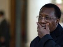 Le président tchadien Idriss Déby Itno, à Paris, en décembre 2012. Photo AFP / Martin Bureau