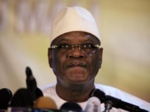 Le président malien Ibrahim Boubacar Keïta, ce mercredi 21 août à Bamako. REUTERS/Joe Penney