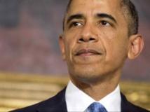 Le président américain, Barack Obama, lors d'une conférence de presse sur l'accord intérimaire sur le nucléaire iranien, ce 23 novembre 2013. REUTERS/Joshua Roberts