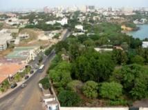 Vue générale du centre ville de Dakar. Getty Images