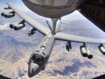 Un B-52, ici en cours de ravitaillement au dessus de l'Afghanistan. Deux de ces appareils ont traversé la zone de surveillance aérienne chinoise. US Air Force