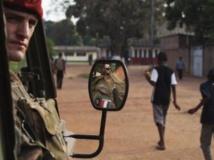 Environ 450 militaires de l'opération Boali sont déjà présents en Centrafrique. REUTERS/Joe Penney