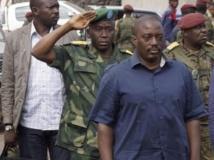 Le président Kabila (face) à Goma, le 30 novembre 2013. REUTERS/Kenny Katombe