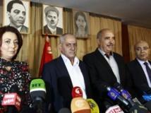 Les représentants des organisations médiatrices à Tunis, le 21 septembre 2013. REUTERS/Anis Mili