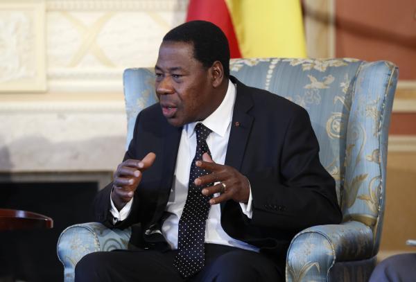 Le président béninois Boni Yayi le 9 janvier 2013 à Ottawa. REUTERS/Chris Wattie