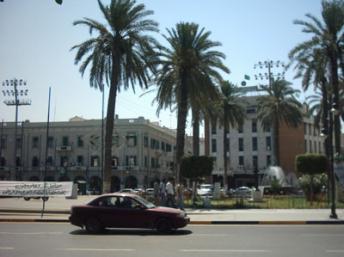 Une vue de Tripoli (la place Verte), capitale de la Libye. Jaw101ie/wikimedia.org