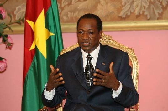 Interview exclusive du Président Blaise Compaoré