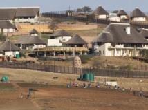 Vue de la résidence secondaire du président sud-africain Jacob Zuma à NKandla. REUTERS/Rogan Ward/Files
