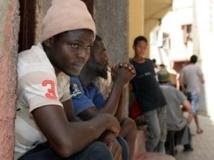 Migrants sénégalais à Rabat, Maroc. AFP PHOTO/FADEL SENNA