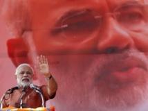 Les sociétés informatiques incriminées affirment travailler pour le parti hindouiste BJP et son candidat Narendra Modi. REUTERS/Anindito Mukherjee