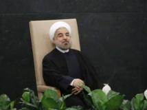 Le président iranien Hassan Rohani, à l'assemblée générale de l'ONU,à New York, le 24 septembre 2013. REUTERS/Ray Stubblebine