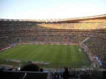 Le stade FNB de Soweto, à Johannesburg, a accueilli la Coupe du monde de football en 2010. Wikipédia