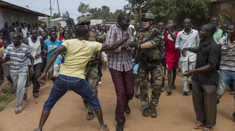 Bangui, le 8 décembre 2013. EUTERS/Herve Serefio