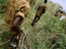 Des soldats burundais en patrouille. Bobby Model/Getty images