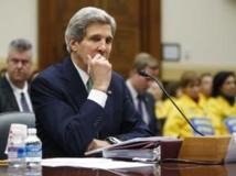 John Kerry répond aux questions de la Chambre des représentants, le 10 décembre, à Washington. REUTERS/Jonathan Ernst