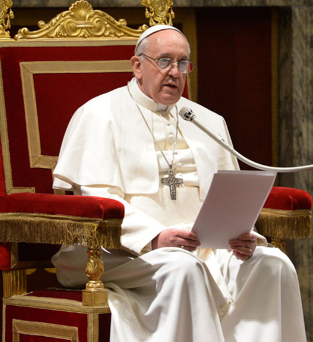 """Le pape François élu """"personne de l'année"""" 2013"""