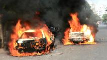 Des véhicules incendiés au Bangladesh, en représailles de l'exécution d'Abdul Quader Molla