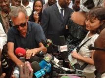 Claude Verlon et Ghislaine Dupont, à Kidal, au Mali, en juillet 2013. RFI