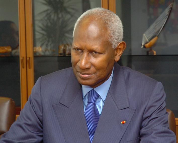 Le président Diouf hôte du Sénégal