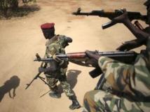 Des soldats sud-soudanais à Juba, la capitale, le 21 décembre 2013. REUTERS/Goran Tomasevic
