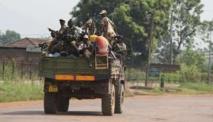Soldats tchadiens, le 22 décembre à Yagato. © AFP/Miguel Medina