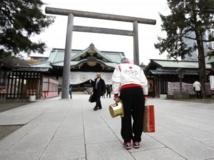 Le Yasukuni honore plusieurs personnalités condamnées pour crimes de guerre. REUTERS/Yuya Shino