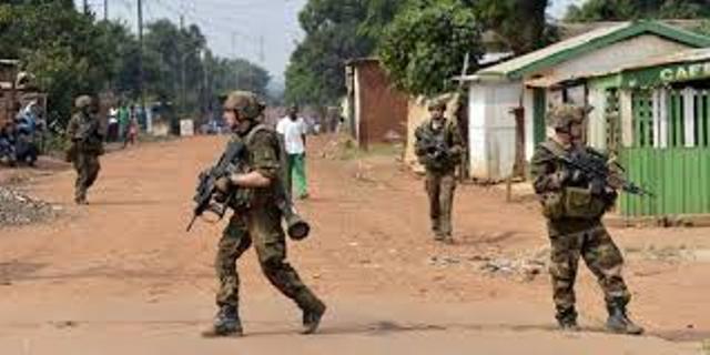 un charnier à Bangui