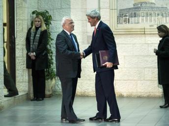 Accord au Proche-Orient: les Palestiniens ne croient pas à l'optimisme affiché de John Kerry