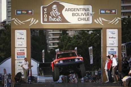 C'est parti pour le Dakar 2014
