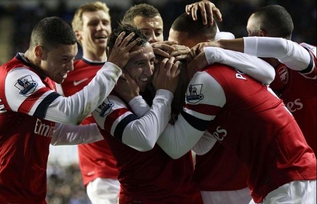 Arsenal sort Tottenham