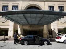C'est dans cet hôtel ultra-sécurisé de Johannesburg que Patrick Karegeya a été assassiné. AFP PHOTO/ALEXANDER JOE