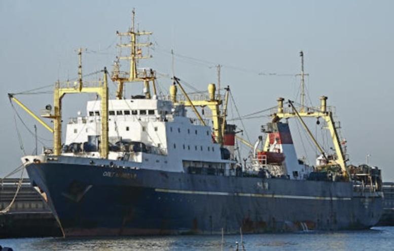 bateau de peche russe