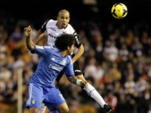 L'Algérien Sofiane Feghouli face au Real Madrid. REUTERS/Stringer