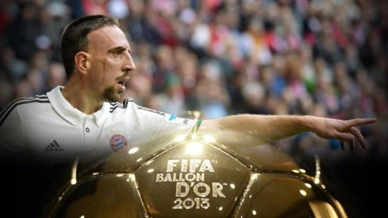 """Ballon d'Or 2013: Franck Ribéry déçu et """"content que ce soit terminé"""""""
