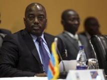 Le président de la RDC, Joseph Kabila, au sommet de la CIRGL le 8 août à Kampala. REUTERS/Edward Echwalu