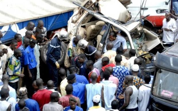 21 blessés au retour du Gamou : le véhicule du Dahira niassène de Tambacounda se renverse