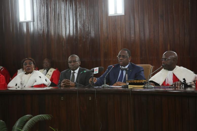 Rentrée des cours et tribunaux-le président Sall en guerre contre la corruption: il prône l'appauvrissement des délinquants économiques