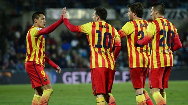 Le Barça passe, Messi brille, Neymar blessé