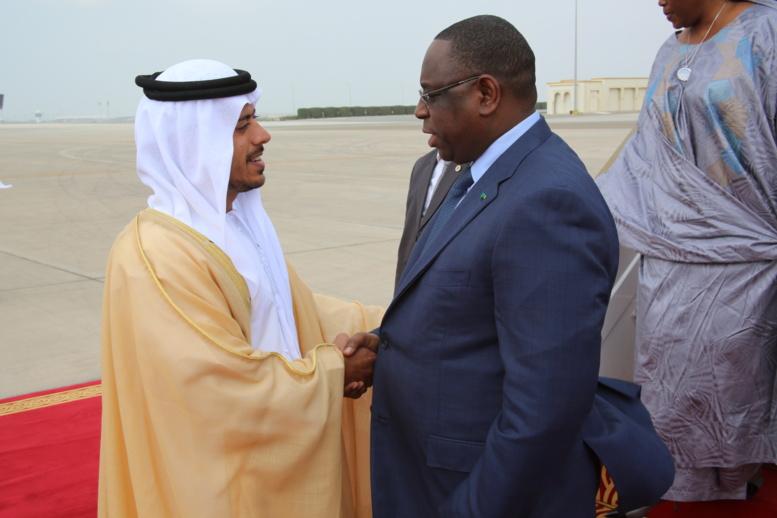 Le Président Sall défend les dossiers du Sénégal à Abu Dhabi